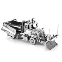 Металлический 3D конструктор Снегоуборочная машина (Metal Earth 114SD Snow Plow) купить