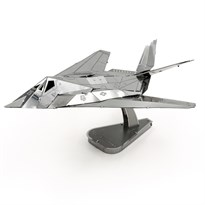 Металлический 3D конструктор Двухдвигательный штурмовик (F-117 Nighthawk Metal Earth) купить