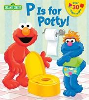 """Книжка """"Г означает Горшок"""" Улица Сезам (P is for Potty! Sesame Street. Lift-the-Flap) купить"""