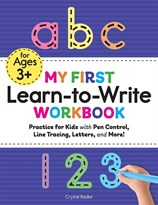 Моя первая книга письма (My First Learn to Write Workbook: Practice for Kids with Pen Control, Line Tracing, Letters, and More!) купиь