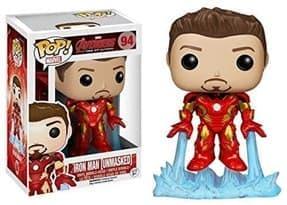Фигурка Железный Человек без маски (Iron Man Unmasked) с фильма Мстители фанко купить