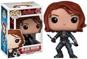 Фигурка Черная Вдова (Black Widow) с фильма Мстители