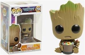 Фигурка Грут и конфеты (Groot With Candy) из фильма Стражи Галактики № 264