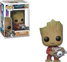Фигурка Грут с кибер-глазом (Groot With Shield) из фильма Стражи Галактики