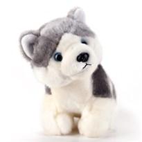 Мягкая игрушка собака хаски (23 см)