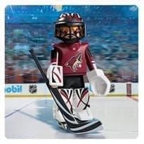 Двигающаяся фигурка NHL Вратарь Аризона Койотис