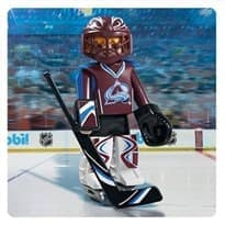 Двигающаяся фигурка NHL Вратарь Колорадо Эвеланш