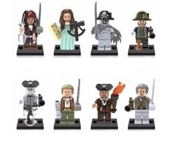 Набор фигурок совместимых с Лего Пираты Карибского моря