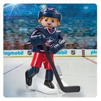 Двигающаяся фигурка NHL Игрок Коламбус Блю Джекетс