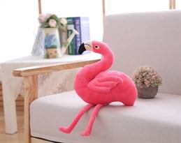 Мягкая игрушка розовый фламинго (25см) купить