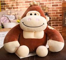 Мягкая игрушка Горилла (30 см) (Коричневый) купить