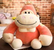 Мягкая игрушка Горилла (30 см) (Красный)