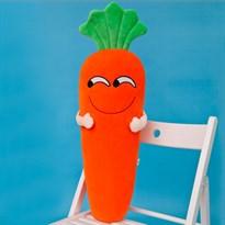 Плюшевая игрушка улыбающаяся морковь (75 см)