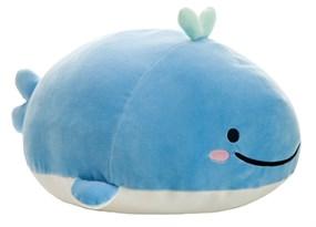 Плюшевая игрушка синий кит
