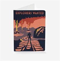 Обложка для паспорта Explorers Wanted Mass Effect (Масс Эффект) купить