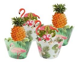 Набор украшения для кексов Фламинго купить в России с доставкой