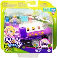 Набор Полли Покет Самолет Полливиль с куклой (Polly Pocket Pollyville Airplane with Micro Polly Doll) купить