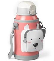 Детский термос-поильник с белым мишкой купить в России с доставкой