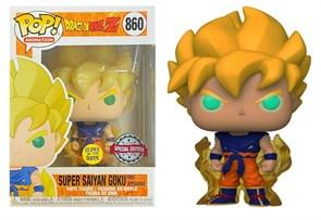 Фигурка Гоку Жемчуг Дракона (Anime Dragon Ball Pop Vinyl Figure Toys Super Saiyan Goku) № 860 купить в России