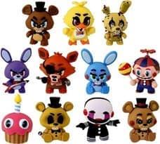 Полный набор Mystery Mini серия 1 (фигурка с загадкой) с 5 ночей с Фредди