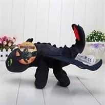 Плюшевая игрушка Беззубик 40 см с мультфильма Как приручить дракона