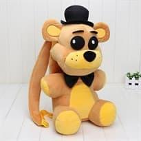 Рюкзак-игрушка Фредди в черной шляпе из игры 5 ночей с Фредди купить