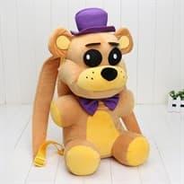 Рюкзак-игрушка Фредди в пурпурной шляпе из игры 5 ночей с Фредди купить