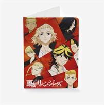 Обложка для паспорта с персонажами Токийские мстители (Tokyo Revengers) купить