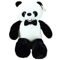 Плюшевая панда с бабочкой 50 см купить в России