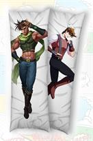 Подушка обнимашка дакимакура Джозеф Джостар Невероятные приключения ДжоДжо (JoJo's Bizarre Adventure) 2 дизайна купить