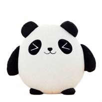 Плюшевая круглая панда подушка 30 см купить в России