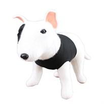Мягкая игрушка собака Бультерьер 30 см купить в России