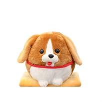 Круглая игрушка-подушка собака Бигль купить в России с доставкой