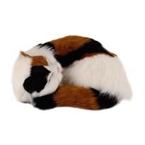 Игрушка Спящая кошка трехцветная купить в России