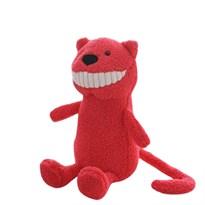 Мягкая игрушка розовый Кот с большими зубами купить в России с доставкой