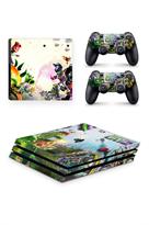 Набор наклеек Зомби против растений (Plants vs Zombies) для приставки Sony Playstation 4 PRO купить