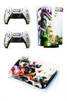Набор наклеек Зомби против растений (Plants vs Zombies) для приставки Sony Playstation 5 купить