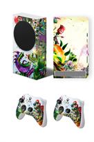 Набор наклеек Зомби против растений (Plants vs Zombies) для приставки Xbox Series S купить