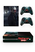 Набор наклеек Джейсон Пятница 13-е (Friday The 13th: The Game) для приставки Xbox One купить