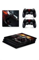 Набор наклеек Ведьмак (Witcher) для приставки Sony Playstation 4 PRO купить