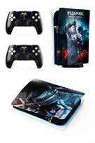 Набор наклеек Ведьмак Геральт (Witcher) для приставки Sony Playstation 5 купить