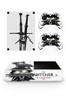 Набор наклеек с логотипом Ведьмак Геральт (Witcher) для приставки Xbox One купить