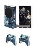 Набор наклеек Ведьмак 3: Дикая охота (The Witcher 3: Wild Hunt) для приставки Xbox Series S купить