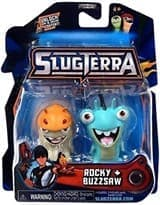 Набор с мини-фигурок Рокки и Базсов с мультфильма Слагтерра (Slugterra Mini Figure 2-Pack Rocky & Buzzsaw) с кодом для игры