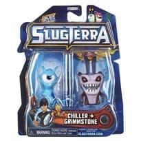 Набор с мини-фигурок Чилер и Глимстоун с мультфильма Слагтерра (Slugterra Mini Figure 2-Pack Chiller & Grimmstone) с кодом для игры