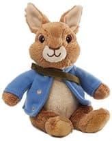Мягкая игрушка Кролик Питер Коричневого цвета с мультфильма 18 см