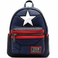"Рюкзак с логотипом Капитана Америка (MARVEL ""CAPTAIN AMERICA"" Cosplay Mini Backpack)"
