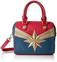 Женская сумка с логопипом Капитан Марвел (Marvel Captain Marvel Xbody)