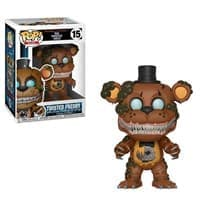 Фигурка Твистед Фредди (Twisted Freddy) из игры Five Nights at Freddy 5 ночей с Фредди Funko pop #15