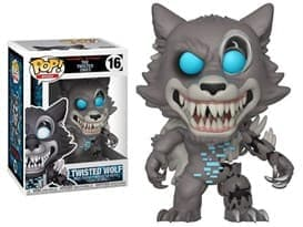 Фигурка Твистед Волк (Twisted Wolf) из игры Five Nights at Freddy 5 ночей с Фредди Funko pop № 16